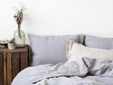 Washed linen Bed Set LIGHT GREY | Bedding set