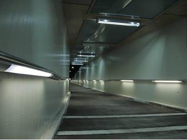 Built-in outdoor LED light bar LIGHT LINE