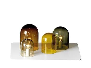 Lampada da tavolo a luce indiretta in vetro LIGHT TRAY