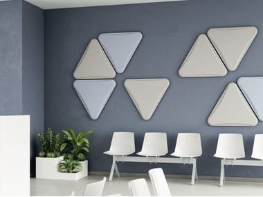 Fabric Decorative acoustic panel LIGHTSOUND | Decorative acoustic panel
