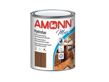 Vernice poliuretanica monocomponente all'acqua per legno LIGNEX HYDROLAC MARINE