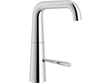 Single handle washbasin mixer with automatic pop-up waste LIKID | Washbasin mixer