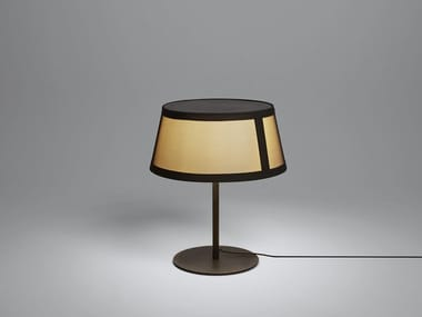 Halogen fabric table lamp LILLY | Table lamp