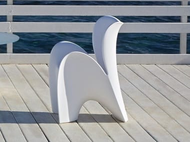 Poleasy® chair with armrests LILY | Chair