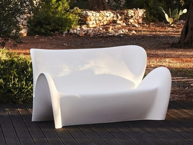 2 seater Poleasy® sofa LILY | Sofa