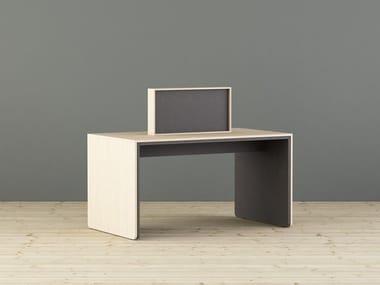 Pannello divisorio da scrivania fonoassorbente LIMBUSCAMPUS | Divisorio ufficio