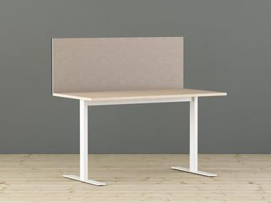 Painel divisor fono-absorvente de mesa LIMBUSDESKUP | Painel divisor