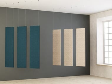 Hanging acoustic panel LIMBUS CEILING | Hanging acoustic panel