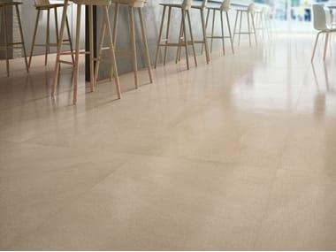 Pavimento/rivestimento in gres porcellanato effetto pietra LIMESTONE - AMBER