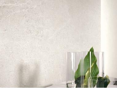 Pavimento/rivestimento in gres porcellanato effetto pietra LIMESTONE - CLAY