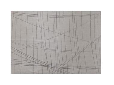 Rectangular linen placemat LINE | Placemat