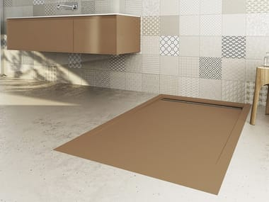 Rectangular extra flat shower tray LINE & MOON X