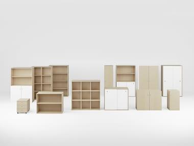 Modular office storage unit LINEA | Modular office storage unit