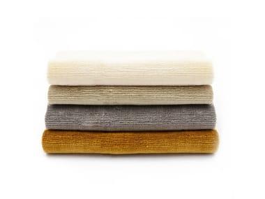Solid-color velvet fabric LINEN VELVET