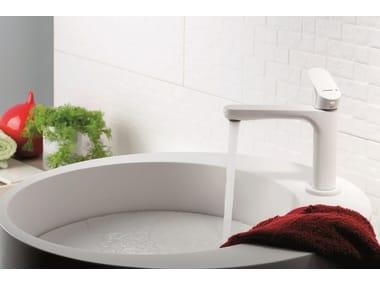 Miscelatore per lavabo da piano monocomando LINFA | Miscelatore per lavabo