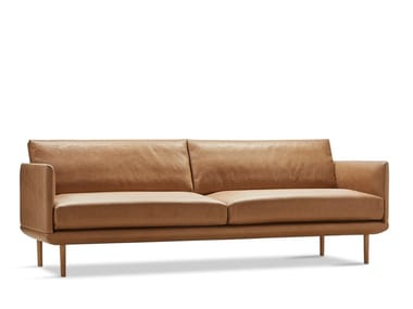 Leather sofa LINGER | Sofa