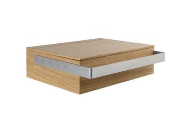 Suspended wooden bathroom cabinet LINK | Bathroom cabinet