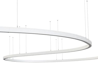 Linear lighting profile for LED modules LINNE S 90 I