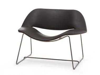 Cadeira lounge trenó LIPS