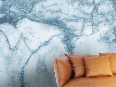 Papel de parede com efeito mármore LIQUID MARBLE