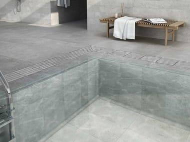Pavimento de gres porcelánico efecto piedra LITOS SIBERIA