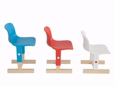 Height-adjustable polypropylene kids chair LITTLE BIG | Kids chair