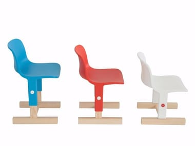 Sedia in polipropilene ad altezza regolabile LITTLE BIG | Sedia