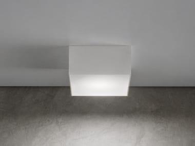 Plafoniera a LED in alluminio LITTLE BOX
