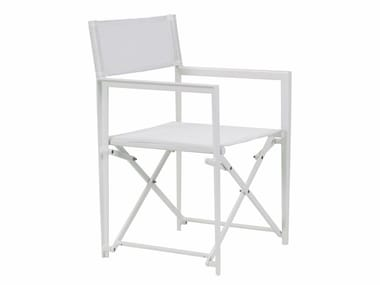 Folding Garden Chair With Armrests LITTLE L | Folding Chair. ROYAL BOTANIA