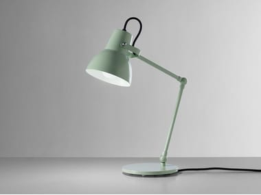 Lampada da tavolo a LED orientabile in alluminio termolaccato LITTLE BIG M