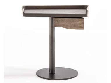 Solid wood and metal coffee table / bedside table LIV