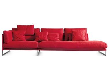Sectional fabric sofa LIVINGSTON | Sofa