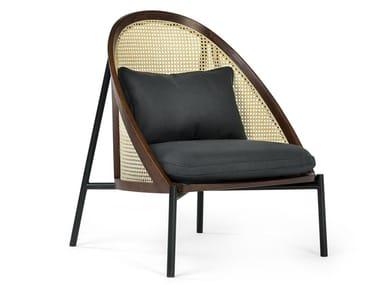 Wooden armchair LOÏE