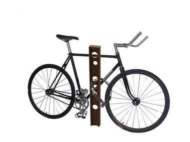 Metal Bicycle rack / bollard LOCK