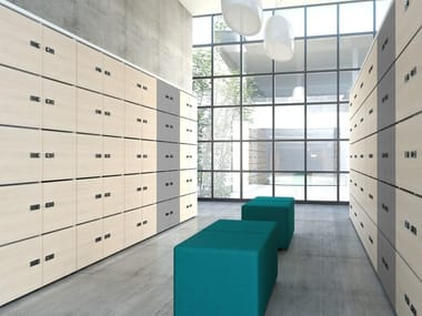 Wooden safe-deposit box LOCKER | Safe-deposit box