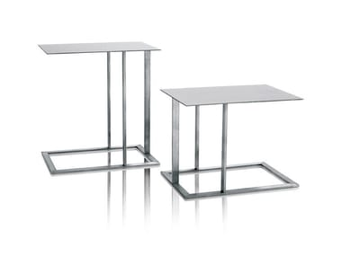 Stainless steel side table LOFT | Coffee table