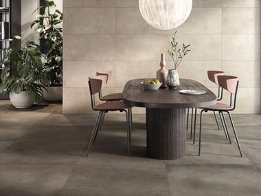 Indoor/outdoor porcelain stoneware wall/floor tiles with concrete effect LOFT