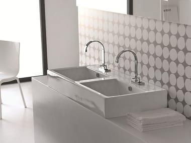 Doppel- Waschbecken | Archiproducts | {Doppelwaschbecken keramik 61}