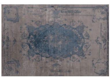 Rectangular Bamboo silk rug LOFT L122F