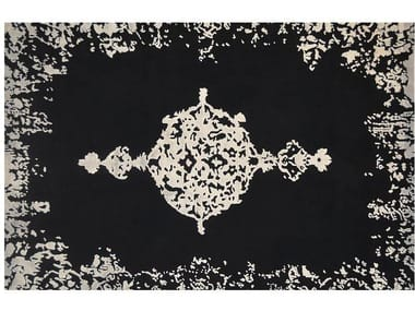 Patterned handmade rug LOFT  L48M