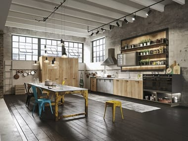Linear fitted kitchen LOFT | Linear kitchen