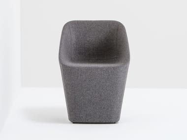 Upholstered easy chair LOG 365