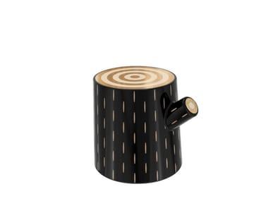 Resin stool / coffee table LOG | Stool