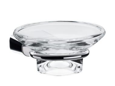 Wall-mounted glass soap dish LOGO2   Soap dish