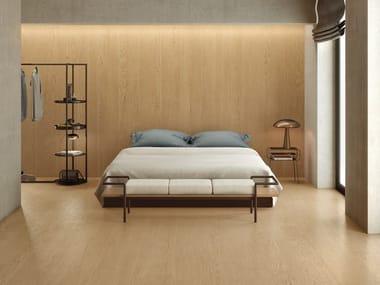 Pavimento/rivestimento in gres porcellanato effetto legno LOGOS WALNUT