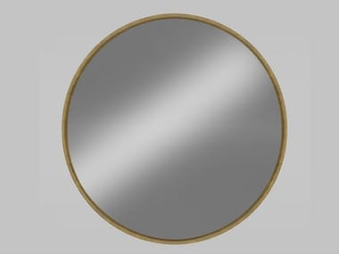 Round wall-mounted framed mirror LONDON