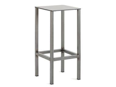High stool with footrest LONDON | High stool