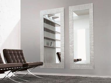 Specchio rettangolare a parete con cornice LOOK AT ME