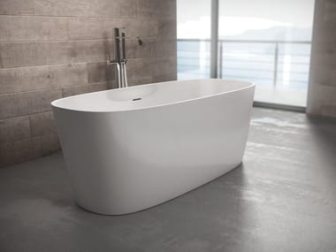 Freestanding oval bathtub LOOP | Bathtub