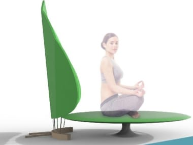 Platform for meditation LOTO
